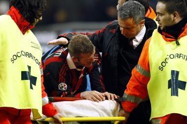 Trauma užvėrė D.Beckhamui kelią į pasaulio čempionatą