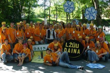 Kaune renkasi aukštųjų mokyklų chorai