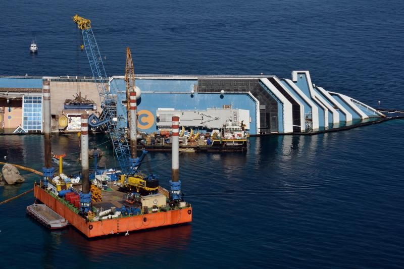 Italijos kruizinis laivas plaukiojo su sugedusiais prietaisais