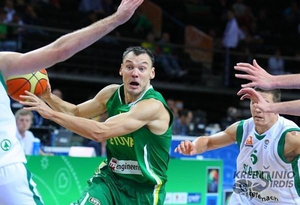 Š.Jasikevičius: vien patekimas į olimpiadą - geras rezultatas