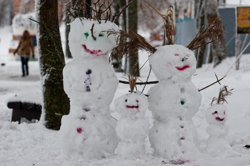 Artimiausiomis dienomis numatomas sniegas ir šlapdriba