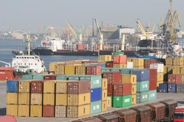 JAV ir EK atstovai tikrina Klaipėdos uosto saugumą