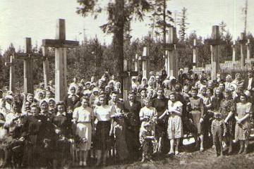 Petrašiūnų kapinėse pagerbti tremtiniai