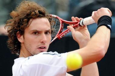 Latvis nepateko į vyrų teniso turnyro Prancūzijos sostinėje ketvirtfinalį