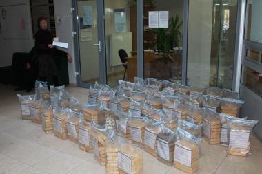 Lietuvos piliečiai susiję su Klaipėdoje sulaikyta milžiniška kokaino siunta