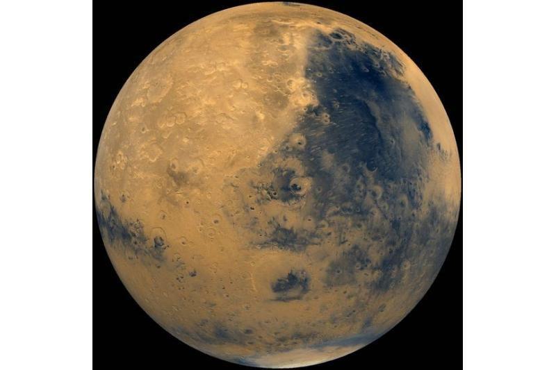 Marso uolienos liudija apie kadaise tekėjusį vandenį?