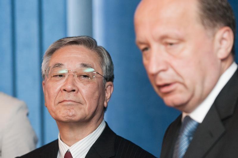 """Susitarimas su """"Hitachi"""" dėl pagrindinių nuostatų - dar šiemet"""