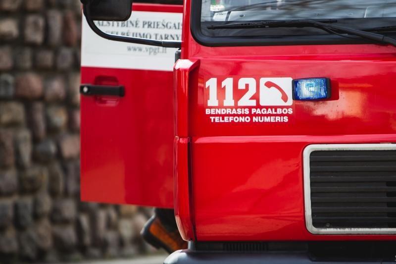 Vilniaus rajone gaisro metu žuvo namo šeimininkas