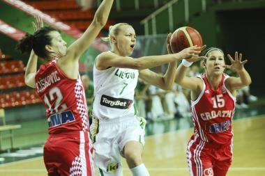 Lietuvos moterų krepšinio rinktinė namie nepralaimi (papildyta)