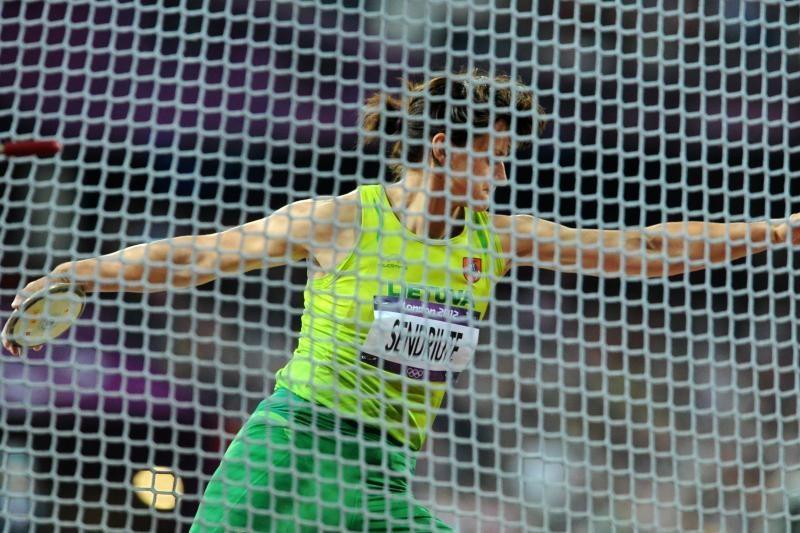 Disko metikė Z.Sendriūtė finale užėmė 9-ą vietą