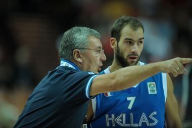 J.Kazlauskas ir Graikija - pusfinalyje