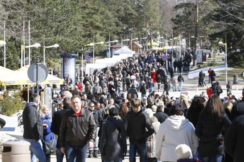 Palangoje gausėja poilsiautojų iš Rusijos