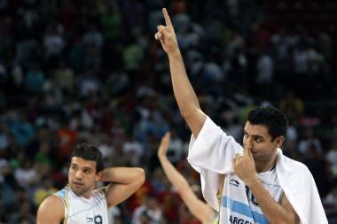 Lietuvos krepšininkai dėl medalio kovos su Argentina