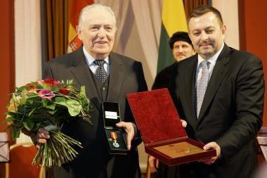S. Sondeckį apdovanojo naujas Vilniaus meras