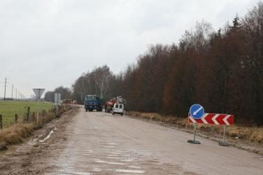 Rajono keliai pirmąkart rekonstruojami europinėmis lėšomis