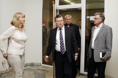 Klaipėdoje viešėjęs Sveikatos apsaugos ministras nepageidavo viešumo
