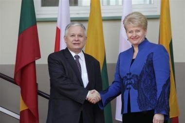L.Kaczynskis nustebintas Lietuvos Seimo sprendimo (papildyta)