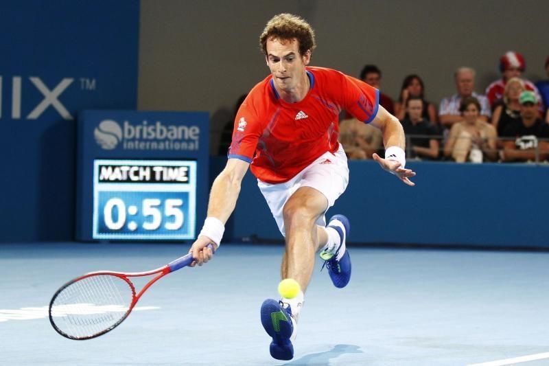 A.Murray'us šešioliktfinalyje sutriuškino varžovą
