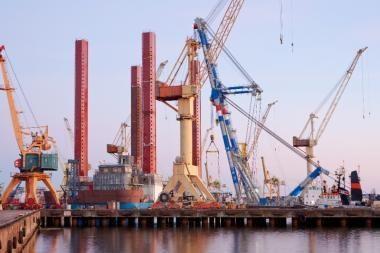Klaipėdos laivų remontininkai konkuruoja su latviais