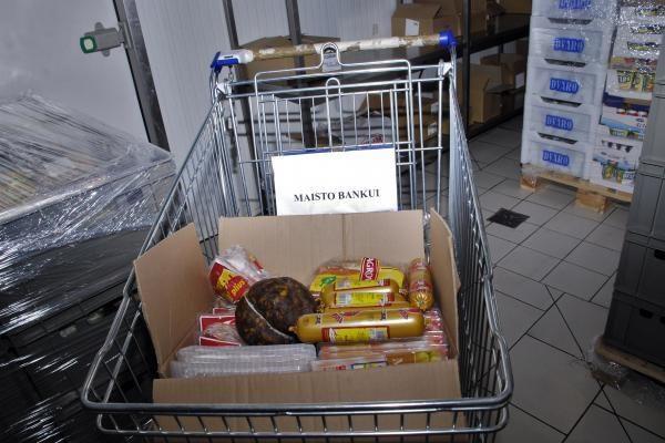 """""""Maisto bankas"""": alkstančių daugėja, paramos mažėja"""