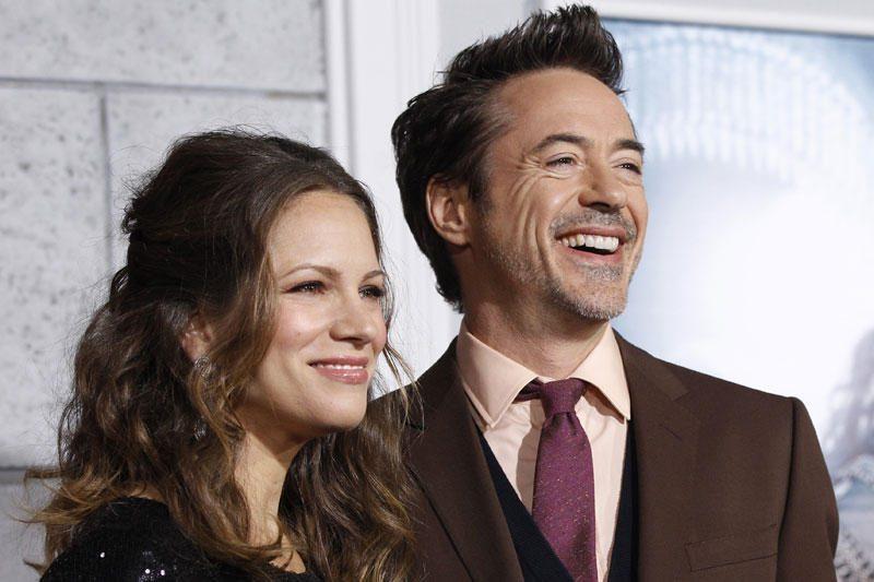 Aktoriaus R.Downey jaunesniojo žmona pagimdė sūnų