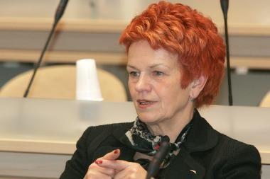 Liberalų sąjūdžio frakcijai vadovaus O.Balžekienė