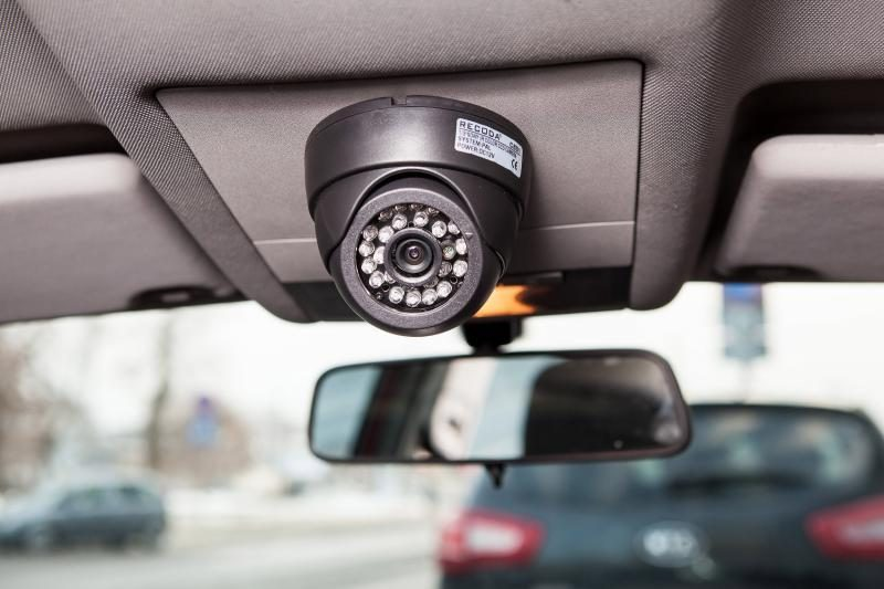 Vilniaus savivaldybės automobiliuose sumontuotos vaizdo kameros