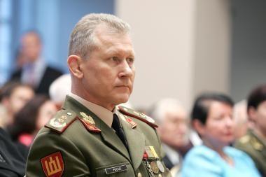 Lietuvos kariuomenės vadas atvyko į Afganistaną