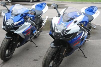 Rasti Anglijoje vogti motociklai