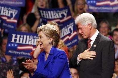 B.Obama susitaikė su buvusiu JAV prezidentu B.Clintonu