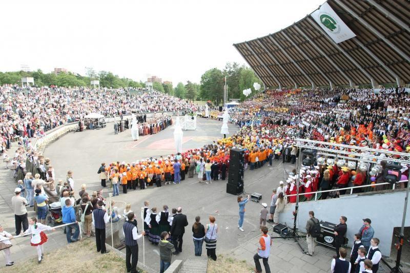 Per uostamiestį aidės Vakarų Lietuvos dainų šventė