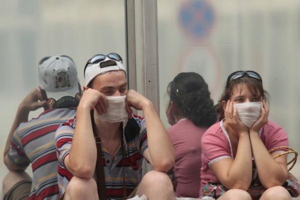 Maskva vis dar neišsivaduoja iš smogo valdžios