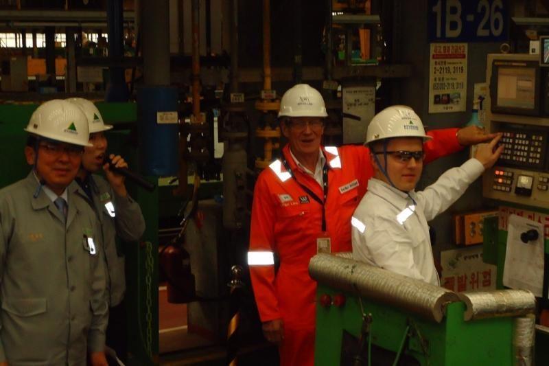 Pradėtas statyti Suskystintųjų gamtinių dujų laivas-saugykla
