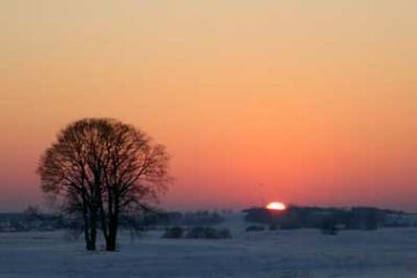 Lietuvoje paspaudė 20 laipsnių šaltis