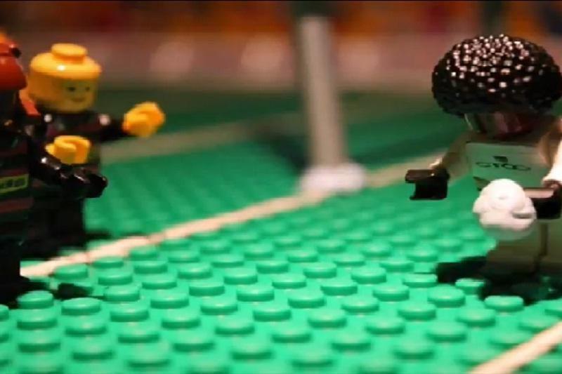 Įspūdingiausi regbio epizodai suvaidinti LEGO figūrėlėmis
