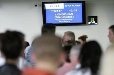 Oro uostuose keleivių patikra griežtinama nebus