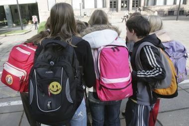 Klaipėdos moksleivių kuprinės - ant svarstyklių