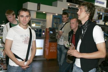 Futbolo rinktinė išvyko į Slovakiją