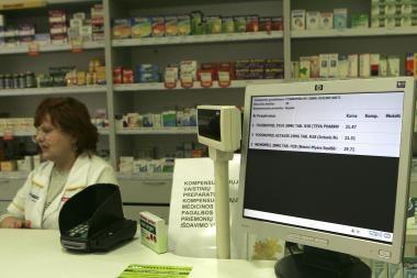 Vaistų kainas galima pasitikrinti ir internete