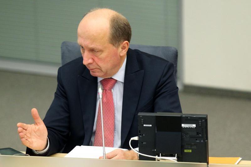 """""""Snoro"""" bankrotas privertė atidėti dviejų premjerų susitikimą"""