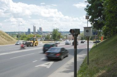 Policijos reidas: šimtai važiuojančių maršrutinio transporto eismo juosta