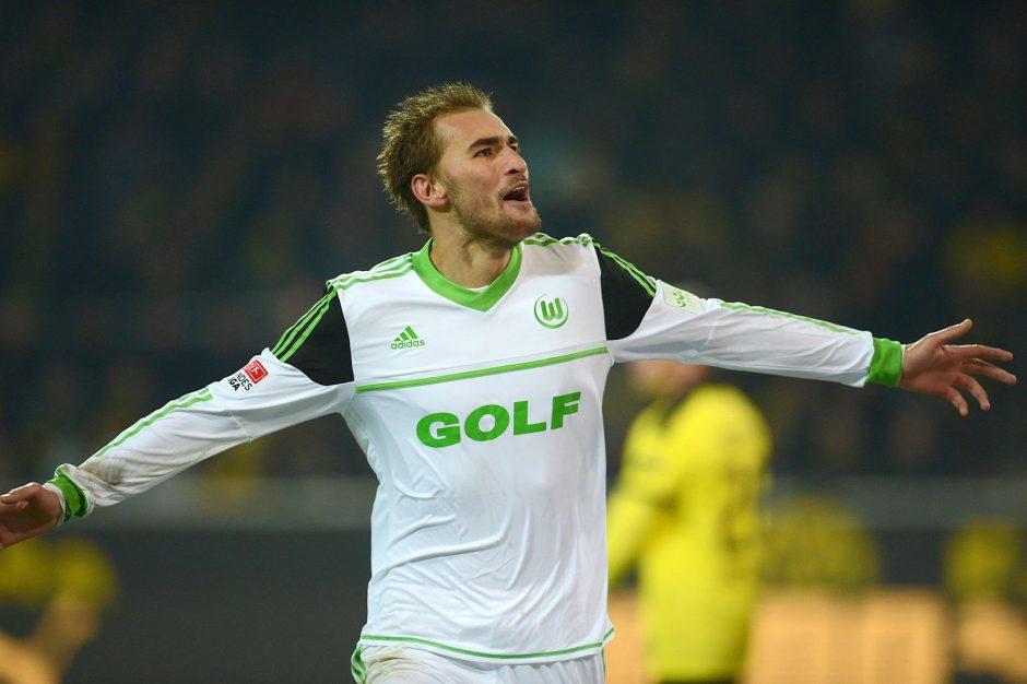 """""""Wolfsburg"""" tėškė antausį Vokietijos čempionams"""