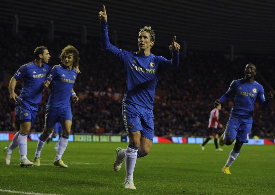 """Chelsea"" svečiuose nugalėjo ""Sunderland"" klubą"