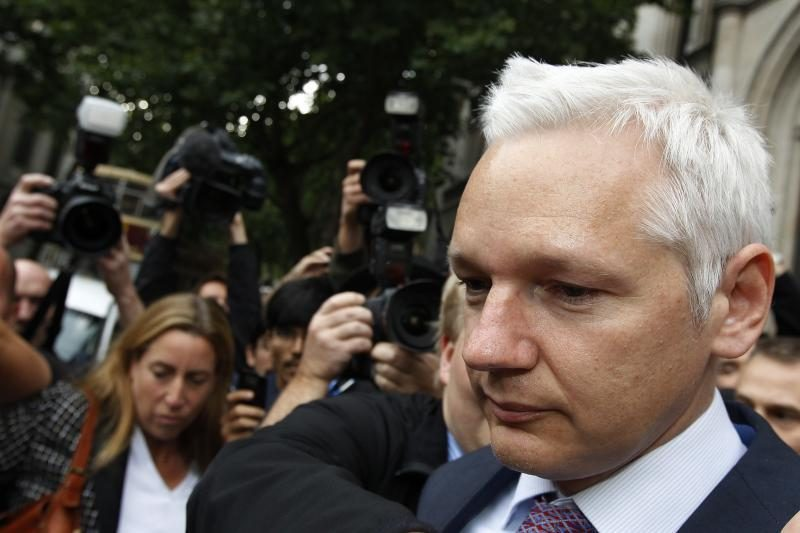 """Ekvadoras: Assange'ui reiškiami įtarimai 95 proc. """"nėra nusikaltimai"""""""