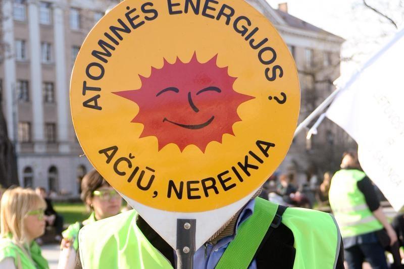 Prie Prezidentūros protestavo AE kritikai ir N.Venckienės šalininkai