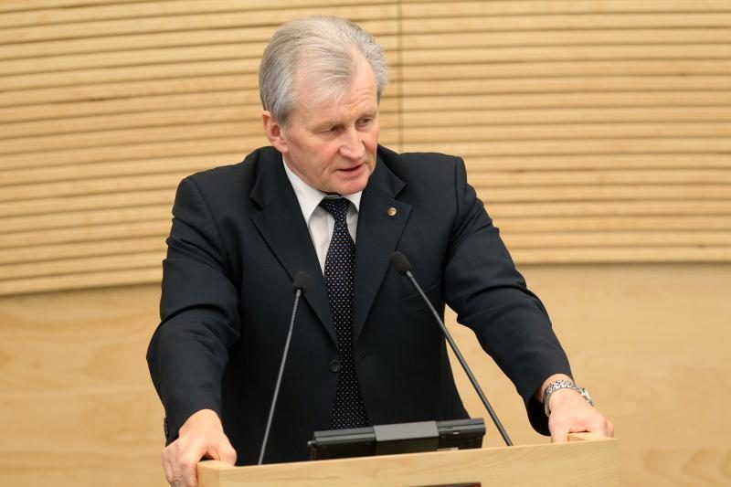 Parlamentaras K.Glaveckas pateko į ligoninę