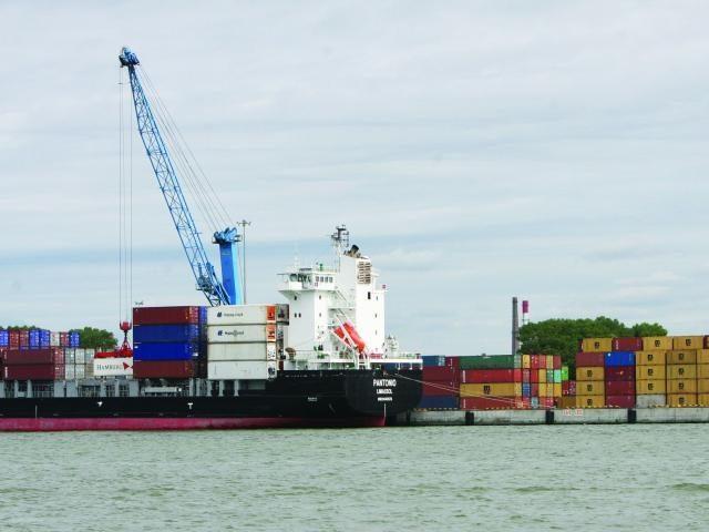 Klaipėdos uoste perkrauta daugiau krovinių