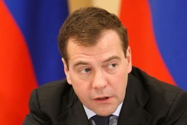 D.Medvedevas: euro stabilumas svarbus pasaulio finansų sistemai