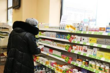 Parlamentarai siūlo uždrausti vaistinių reklamą