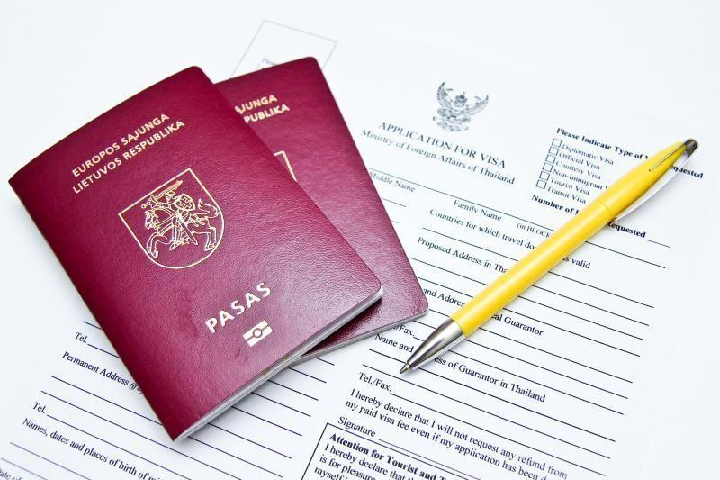 Policijos migracijos tarnybose - pasų keitimo vajus